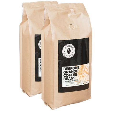 But if you have the budget, we think you'll love this tasty, unusual coffee. Bespoke Grande Coffee Beans 1kg
