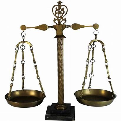 Scales Balance Justice Scale Marble Brass