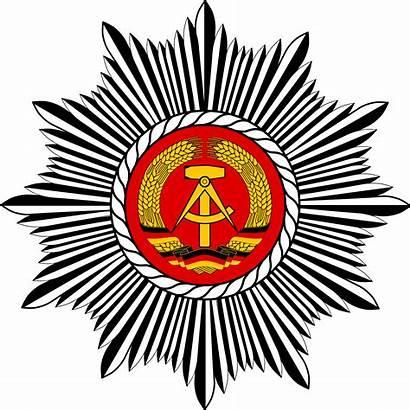 Volkspolizei Emblem Deutschen Svg Deutsche 1961 Commons