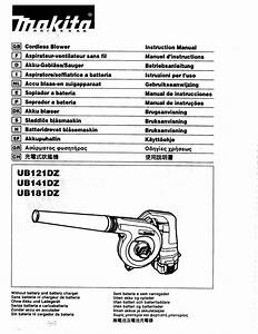 Ub181dz Manuals