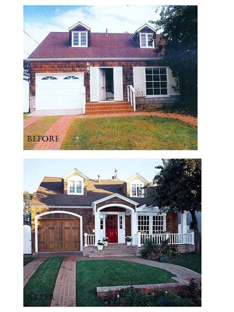 38 Best Images About Curb Appeal Before And After On