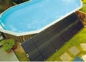 les panneaux solaires pour piscine solaire guide With panneau solaire thermique pour piscine