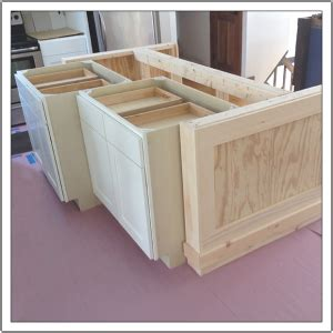how to make a kitchen island with base cabinets build a diy kitchen island build basic