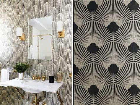 chambre deco indienne papier peint déco couleurs et géométrie