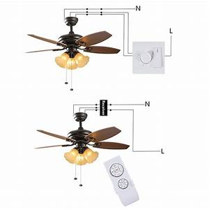 Universal Ceiling Fan Remote Control Controller Switch Rf