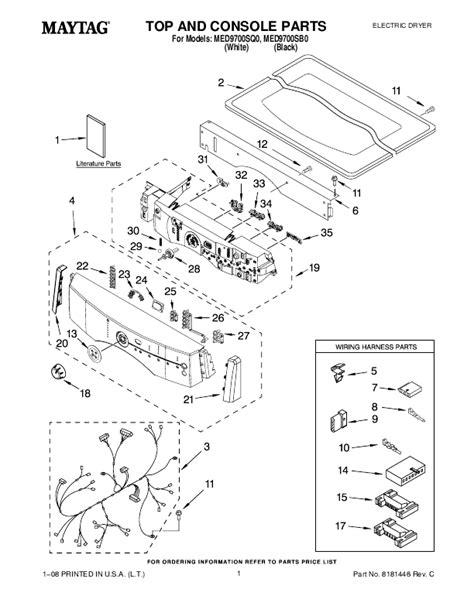 Maytag Neptune Dryer Mdeayw Manual
