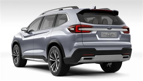 subaru suv 2018 subaru ascent suv concept unveiled in new york car