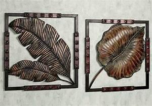 Indoor and outdoor decorative metal wall art decor