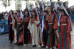 Bethlehemites In Traditional Dress Photograph by Munir Alawi