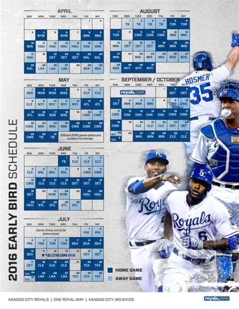 kansas city royals fan fest 2018 mets 2016 printable schedule calendar template 2016
