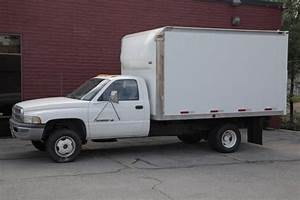 Sell Used 1999 Dodge Ram 3500 Box Truck 4x4  White  Runs