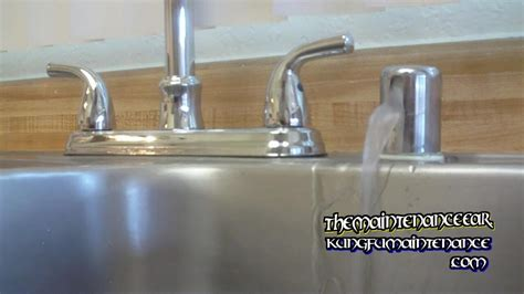 dishwasher air gap leaking under how to stop dishwasher leaking water from counter top