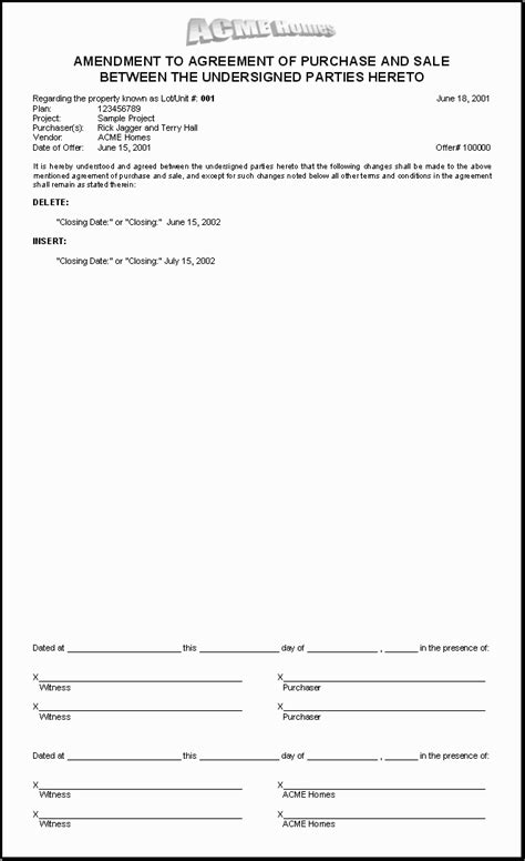 simple purchase agreement template  printable documents
