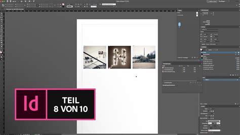 indesign cc basic tutorial bilder platzieren und