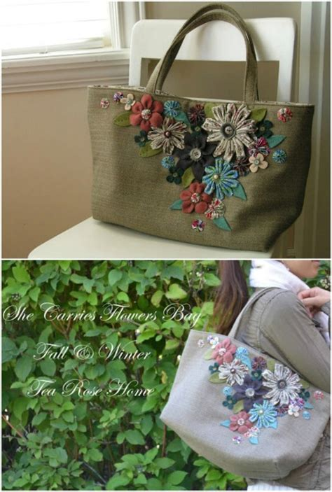 gorgeous diy tote bags   patterns   occasion diy crafts