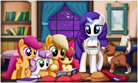 Story Time With Applejack By Ctb 36 On Deviantart
