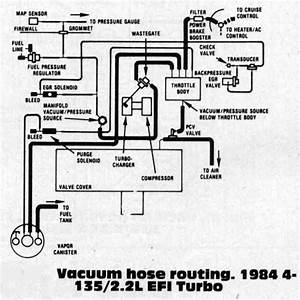 1984 Turbo Vacuum Diagram
