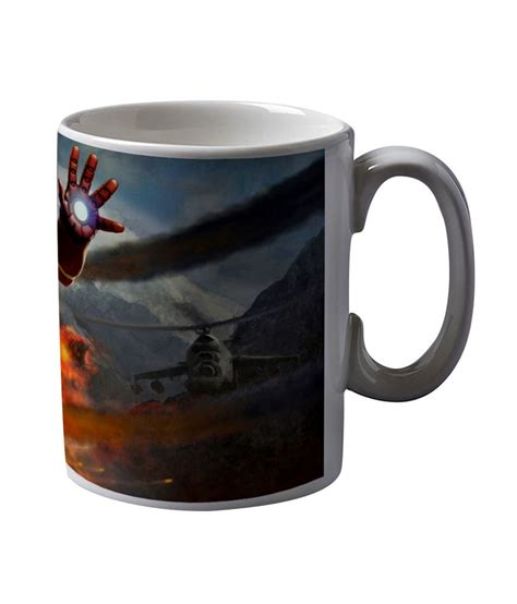Beard scala mustache design for manly guy man hips. Artifa Iron Man Coffee Mug: Buy Online at Best Price in India - Snapdeal
