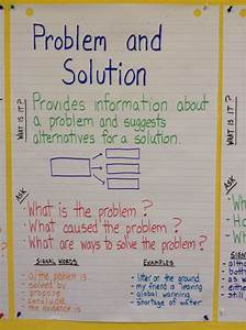Nonfiction Structure  Problem And Solution