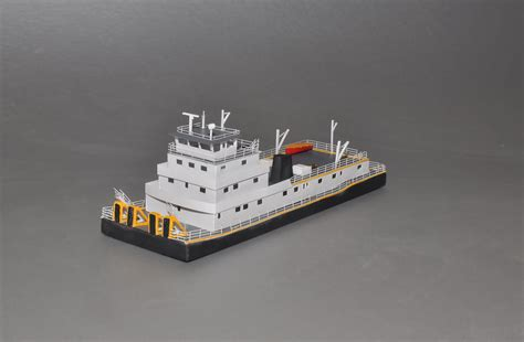 Tow Boat Us Port Hadlock by 145 Us River Towboat N Scale Ships