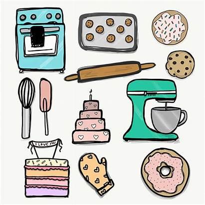 Baking Clipart Background Transparent Bakers Dpi Baked