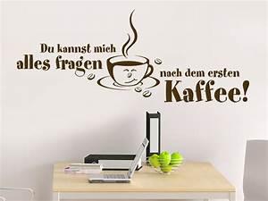 Wandtattoo Küche Bilder : wandtattoo nach dem ersten kaffee wandtattoo de ~ Sanjose-hotels-ca.com Haus und Dekorationen
