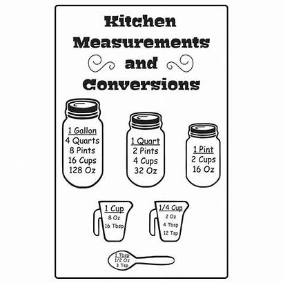 Svg Conversion Kitchen Measurements Measurement Chart Conversions