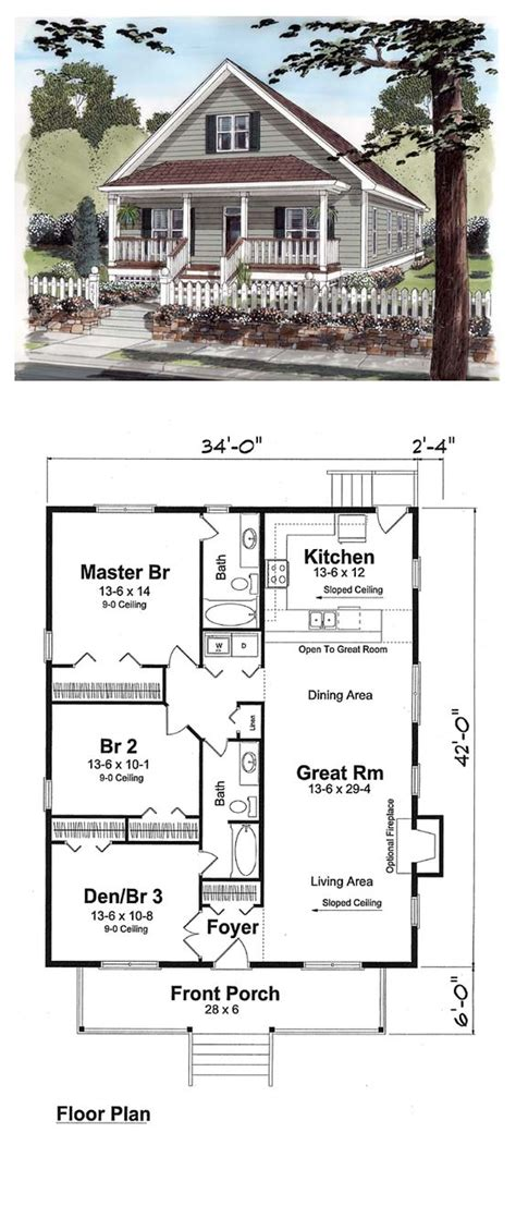 Construction House Plans by 25 Impressive Small House Plans For Affordable Home