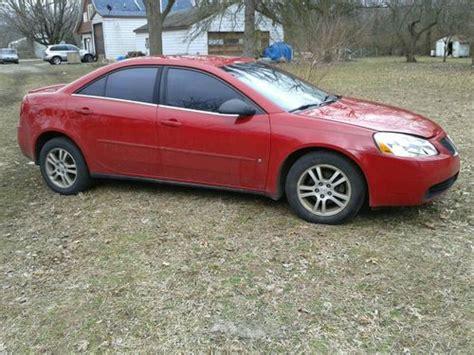 Sell Used 2006 Pontiac G6 Base Sedan 4-door 2.4l In