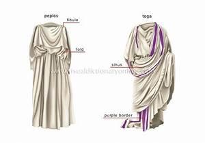 Illustration of Ancient Roman Toga & Peplos Google Image ...