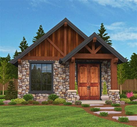 Vacation House Plans Small by Plan 85106ms Rustic Guest Cottage Or Vacation Getaway