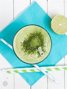 Schöner Leben Rezepte : smoothie montag 12 matcha avocado dattel banane smoothie ~ Lizthompson.info Haus und Dekorationen