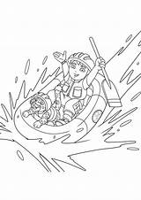Diego Jaguar Coloring Pages Rafting Going Dodge Charger 1969 Chargers Helmet Netart Getdrawings sketch template