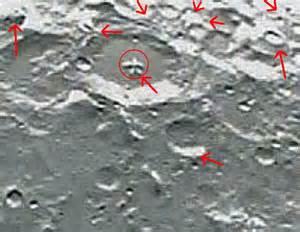 NASA Dark Side of Moon Structures