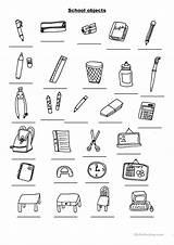 Objects Worksheet Worksheets Activities Esl Printable Resources Janeiro Rio Teachers Upvote sketch template