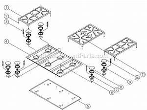 Dacor Erd36 Parts List And Diagram   Ereplacementparts Com