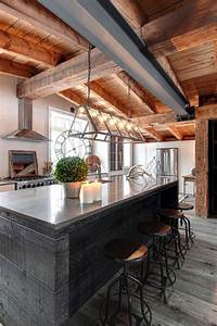 25 best ideas about rustic modern cabin on pinterest With aesthetic elements in designing a rustic kitchen