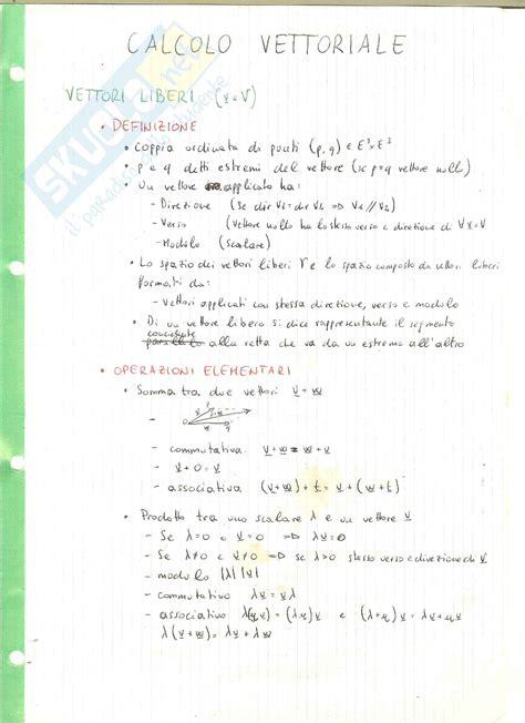Dispense Algebra Lineare by Fondamenti Di Informatica I Linguaggio C Dispense