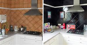 carrelage adhesif cuisine pas chere With carrelage adhesif salle de bain avec vitrine led pas cher