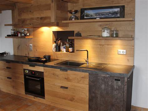 cuisines bois contemporainesmenuiserie agencement gerard fabrication de cuisine salle de