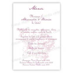 menu de mariage carte de baptme imprimer lunivers des experts invitations ideas