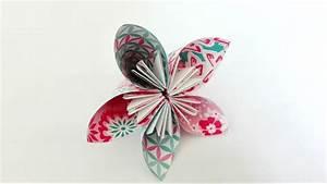 Comment Faire Une Rose En Papier Facilement : tuto fleur en mouchoir youtube jo t origami and diy ~ Nature-et-papiers.com Idées de Décoration