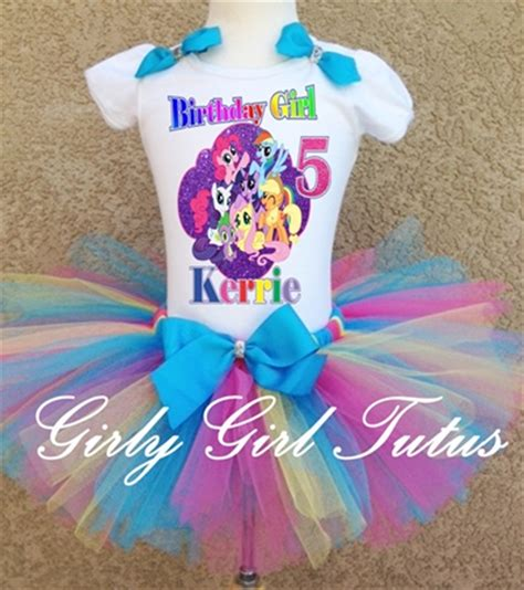 my little pony personalized birthday outfit party dress