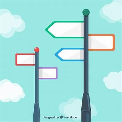 Signpost Blank Vector Psd Freepik Vectors