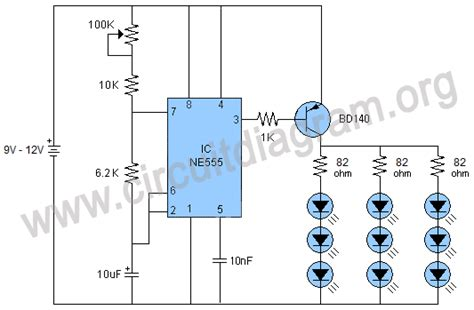 Camera Flash Effects Using Circuit Diagram
