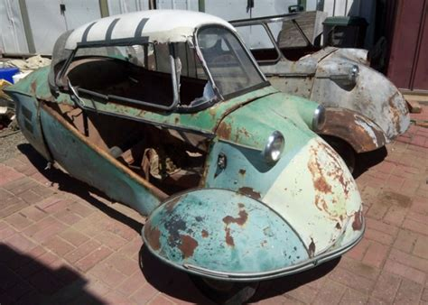 Micro Cars, Mighty Projects: 1955 Messerschmitts