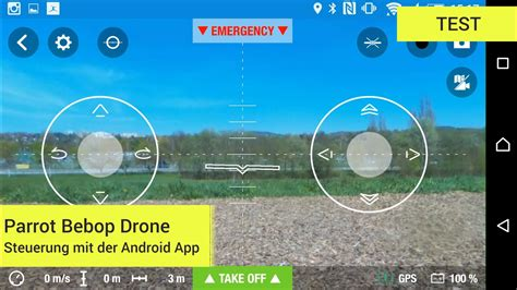 parrot bebop drone steuerung mit der android app youtube