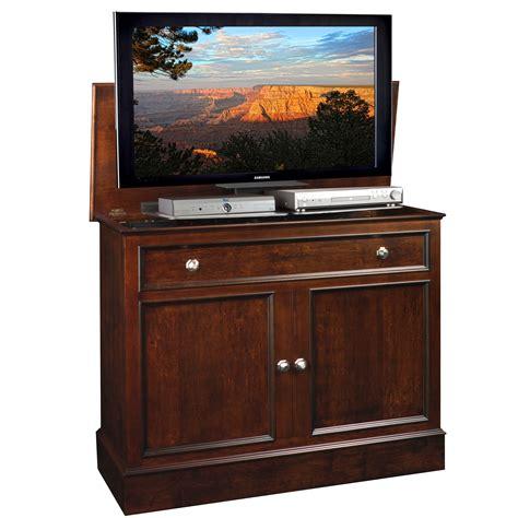 tv lift cabinets traveler tv lift cabinet