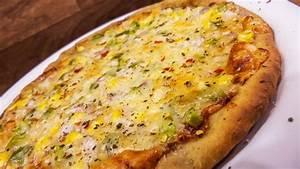 atta pizza recipe wheat crust healthy pizza made