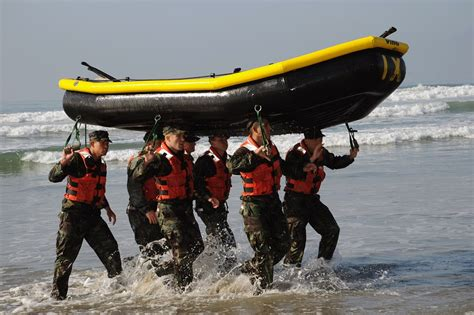 Boat Building Exercise by Free Photo Boat Teamwork Training Exercise Free